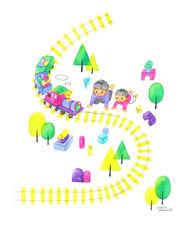 子ども 汽車 おもちゃ